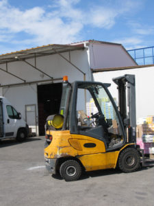 Warehouse with forklift Austin