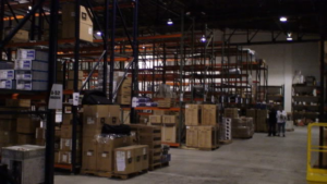 Warehouse update Texas